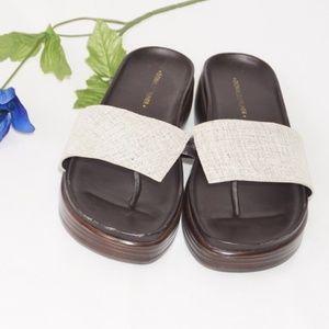 Donald J Pliner Fifi Leather Sandal, Size 9